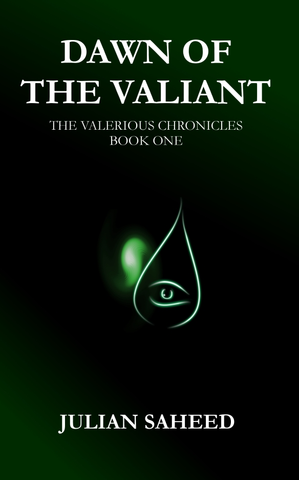 Dawn of the valiant front cover